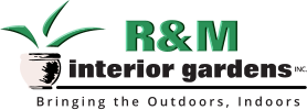 R&M interior gardens Bringing the Outdoors, Indoors INC.